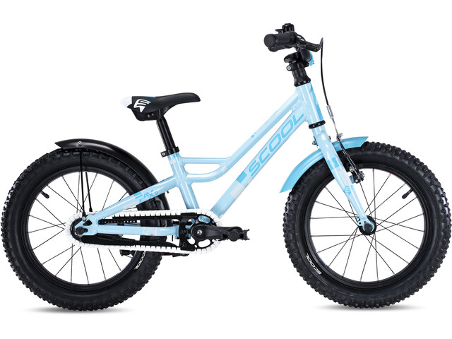 s'cool faXe alloy 16 Kinder lightblue reflex